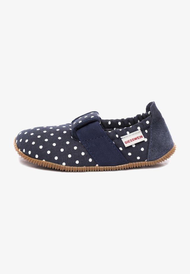 SILZ - Slippers - dunkelblau