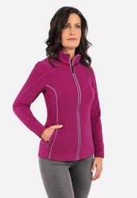 Giesswein - Fleece jacket - dark purple - 0