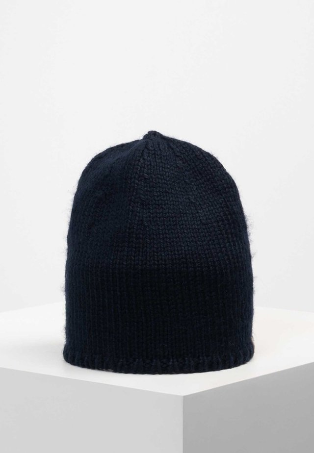 HOHE MUNDE - Beanie - dark blue