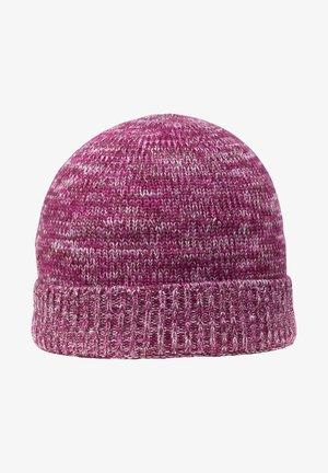 Mütze - burgunder