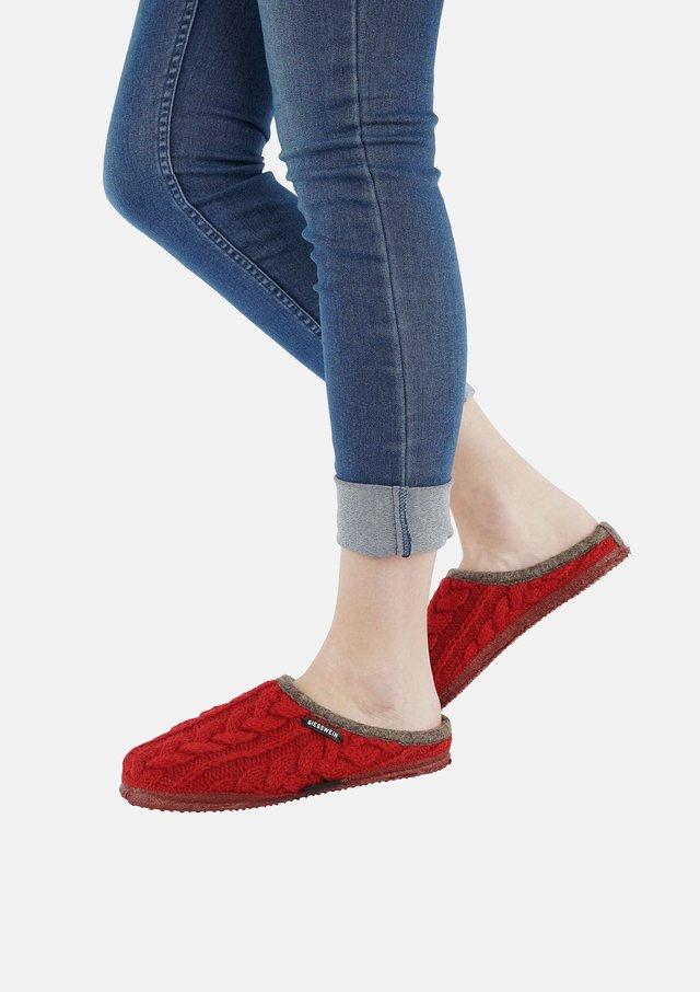 NEUDAU  - Slippers - red