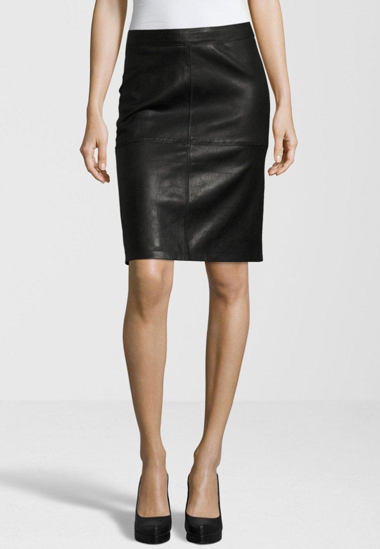 Gipsy - SWANTE LNS - Pencil skirt - black