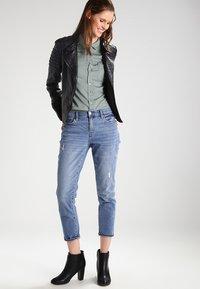 Gipsy - Leather jacket - black - 1