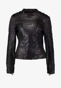Gipsy - Leather jacket - black - 7