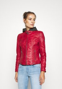 Gipsy - CACEY - Kožená bunda - red - 0