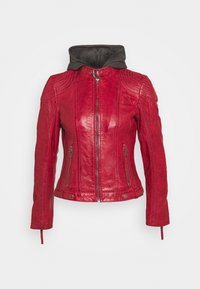 Gipsy - CACEY - Kožená bunda - red - 5
