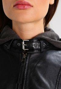 Gipsy - CACEY - Leren jas - black - 4