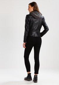 Gipsy - CACEY - Leren jas - black - 2
