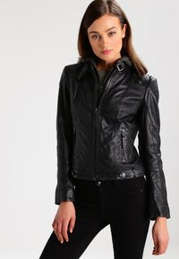 Gipsy - CACEY - Leren jas - black - 0