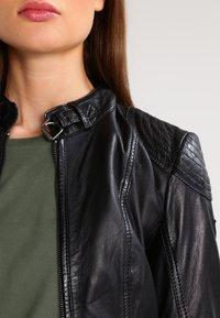 Gipsy - CACEY - Leren jas - black - 6