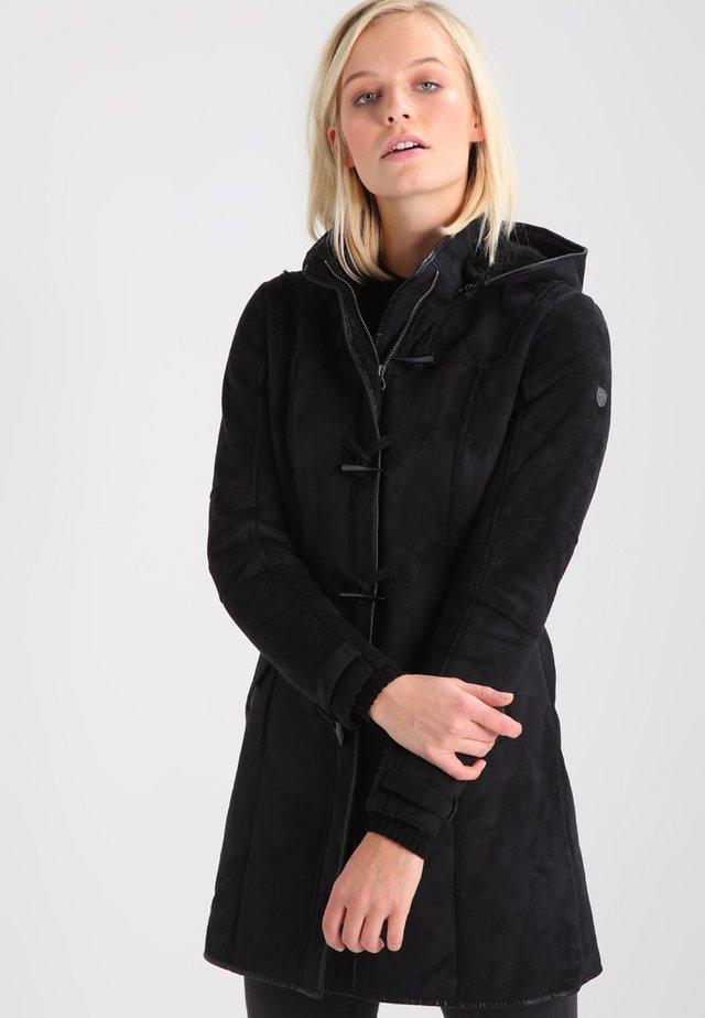 LIEKE - Krátký kabát - black