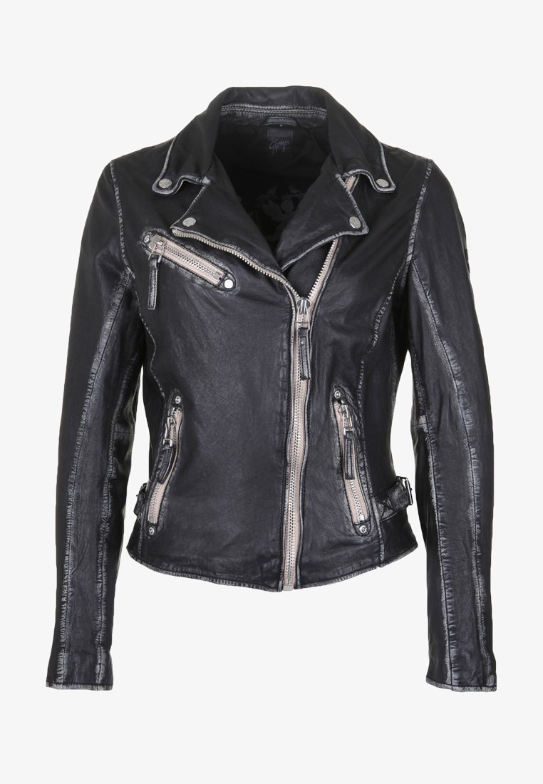 Gipsy - Leather jacket - black