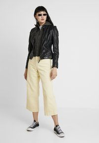 Gipsy - TIFFY - Leren jas - black - 1