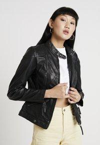 Gipsy - TIFFY - Leren jas - black - 3