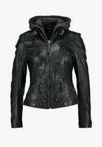 Gipsy - TIFFY - Leren jas - black - 4