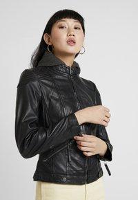 Gipsy - TIFFY - Leren jas - black - 0