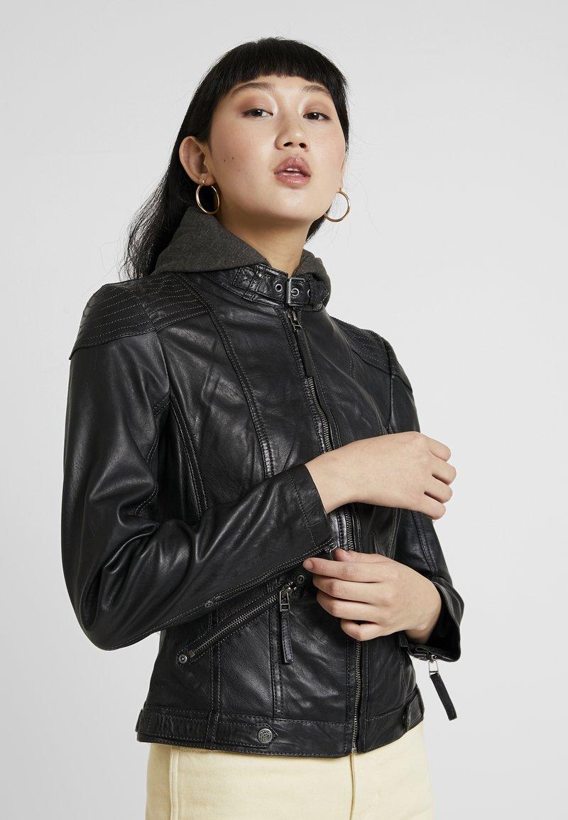 Gipsy - TIFFY - Leren jas - black