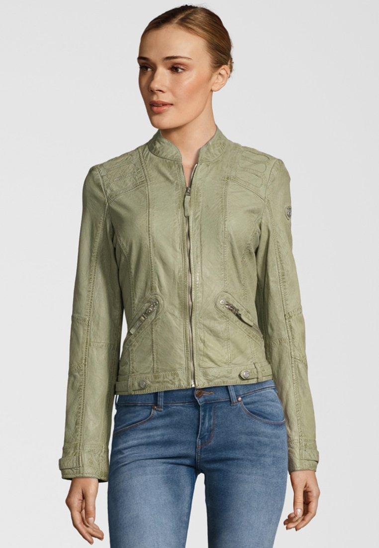 Gipsy - MACY LADAV - Leather jacket - pastel green