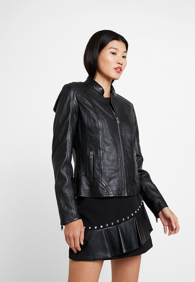 CAIT - Leather jacket - black