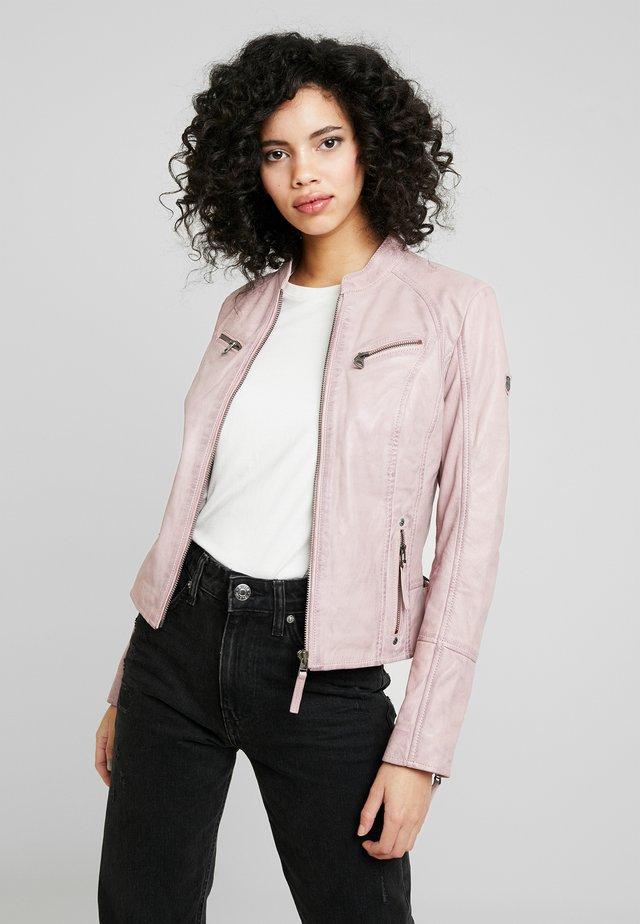 NOHLA - Kožená bunda - pink