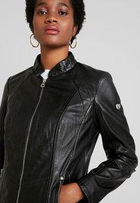 Gipsy - LOREY - Leather jacket - black - 4
