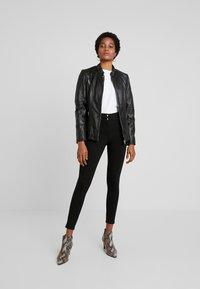 Gipsy - LOREY - Leather jacket - black - 1