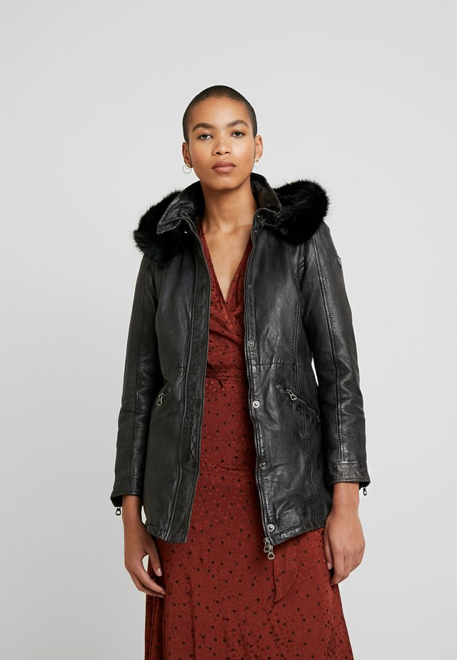 EMELY LANOV - Short coat - graphite