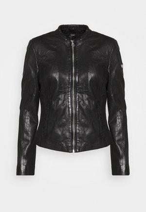 LASTAV - Leren jas - black