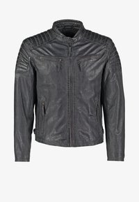 Gipsy - CHESTER - Leather jacket - dunkelgrau - 6