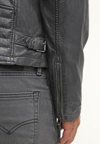 Gipsy - CHESTER - Leather jacket - dunkelgrau - 7