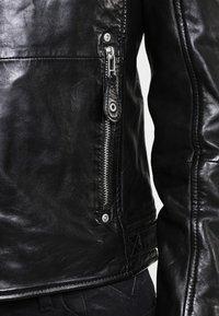 Gipsy - MAVRIC  - Veste en cuir - schwarz - 3