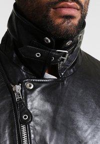 Gipsy - MAVRIC  - Veste en cuir - schwarz - 4