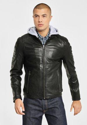 RYLO LAKEV - Leren jas - black