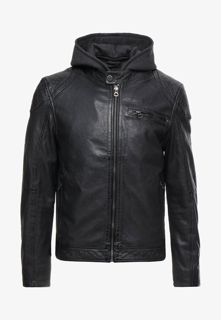 Gipsy - ALEK LABRIV - Leather jacket - graphite