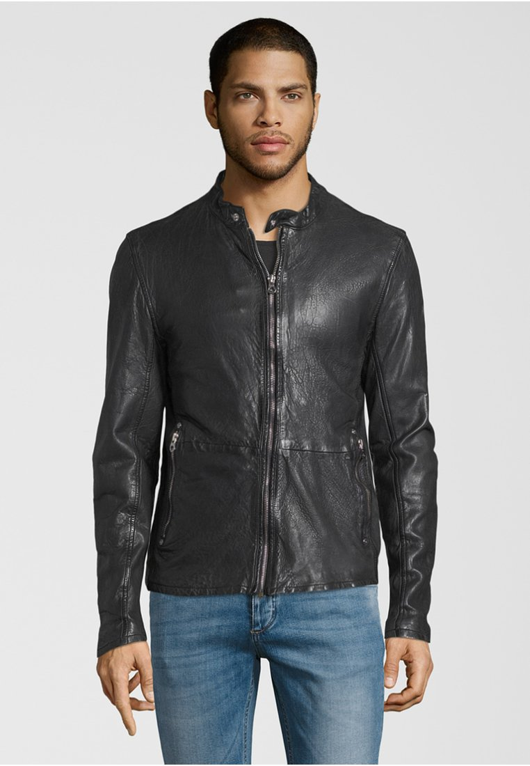 Gipsy - Leather jacket - black