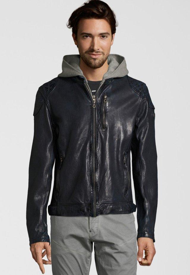 HAYO LVTW - Leren jas - dark blue