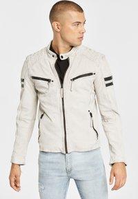Gipsy - GBREMMY LACAV - Leren jas - white - 0