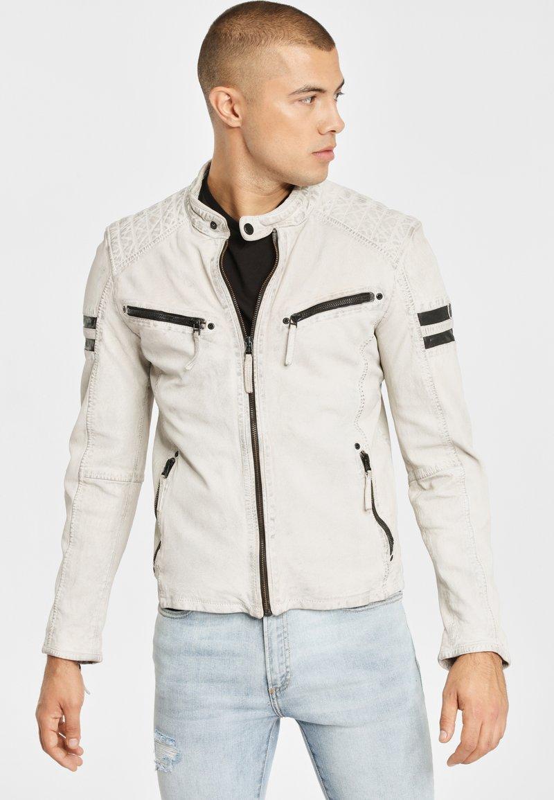 Gipsy - GBREMMY LACAV - Leren jas - white