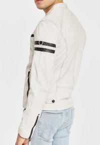 Gipsy - GBREMMY LACAV - Leren jas - white - 4