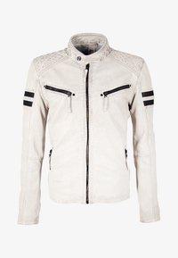Gipsy - GBREMMY LACAV - Leren jas - white - 5