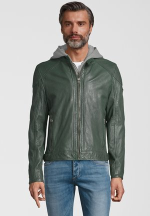 GBYOTIM NSLV - Leren jas - green