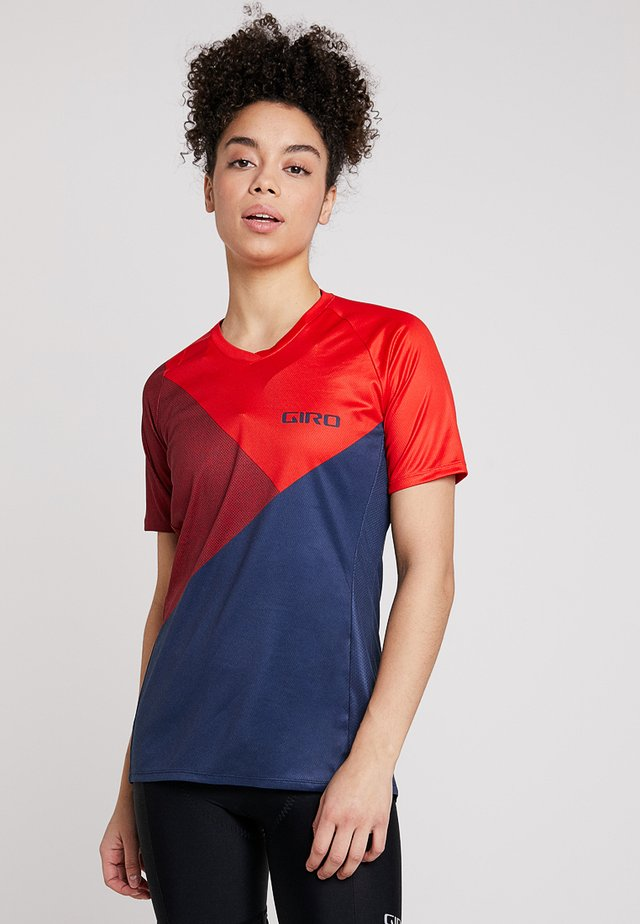 ROUST - T-shirt print - red shadow