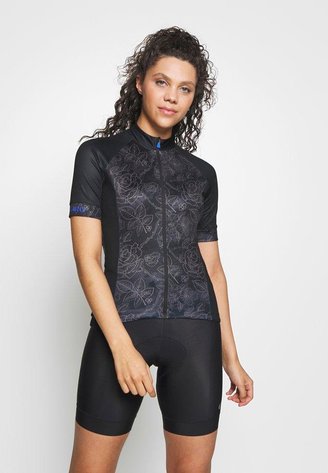CHRONO SPORT - T-shirt z nadrukiem - black