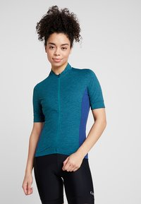 Giro - NEW ROAD - T-Shirt print - teal heather - 0