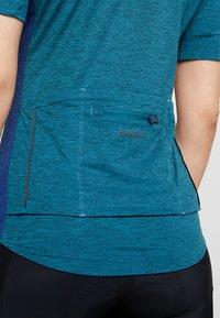 Giro - NEW ROAD - T-Shirt print - teal heather - 6
