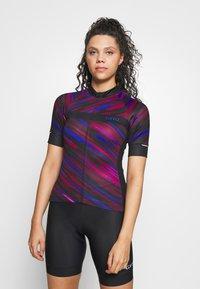 Giro - CHRONO EXPERT - T-shirt med print - black blur - 0