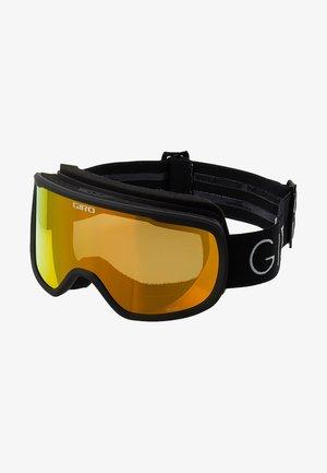 MOXIE - Gogle narciarskie - black core light