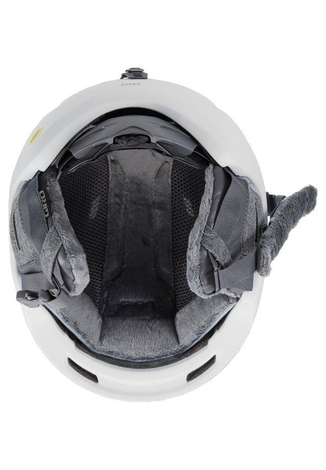 AVERA MIPS - Hjälmar - matte white