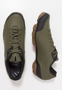 Giro - PRIVATEER LACE - Fahrradschuh - olive/gum - 1