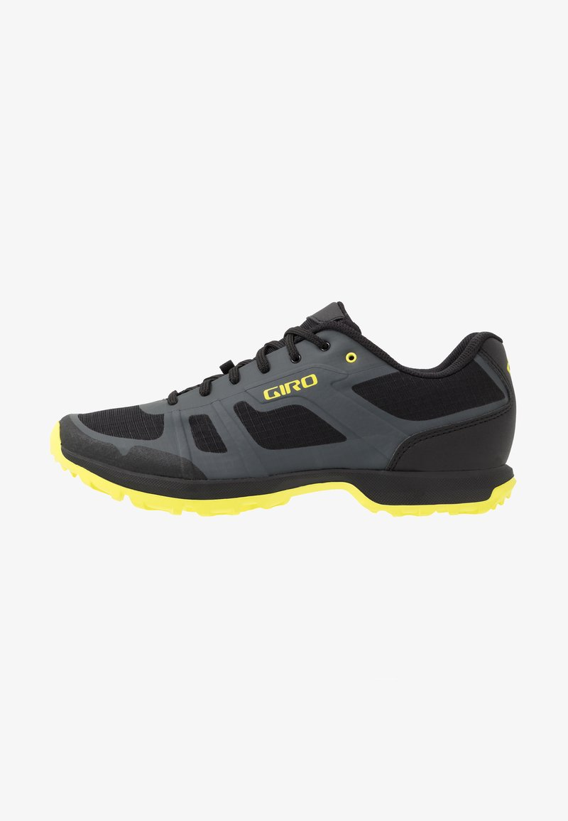 Giro - GAUGE - Cycling shoes - dark shadow/citron